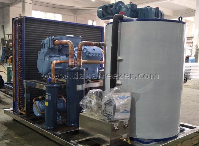 How To Install 3T Flake Ice Machine Water Pipe?