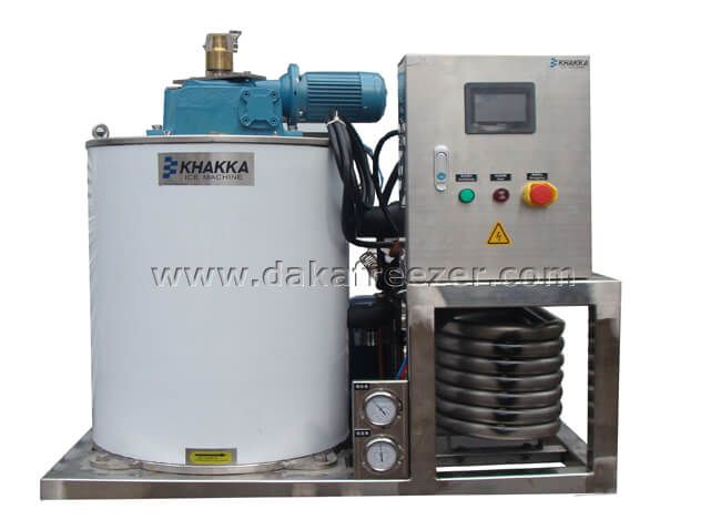 Marine Sea Water Flake Ice Machine 2T/24H