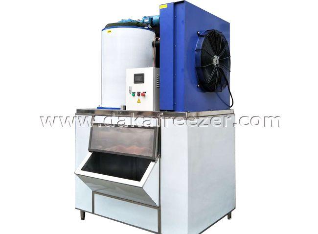 Supermarket Seawater Slurry Ice Machine Process