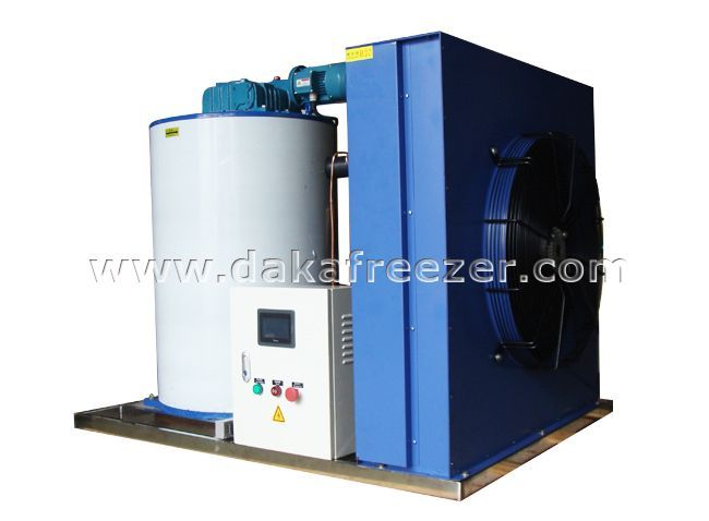 How Does Flake Ice Machine 2.5 Tons Works?