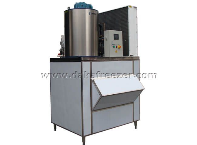 Ice Making Process of Flake Ice Machine 2 Tons