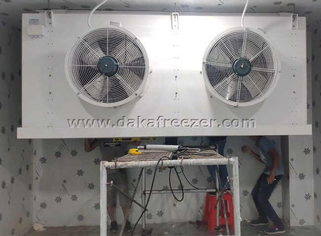 -60° ultra-low temperature cold storage project in Haikou